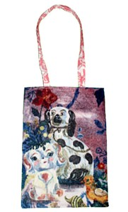 "12"" x12"" Doggy Adult Tote"