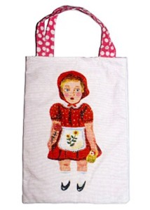 20 x 28 cm Little Red Tote