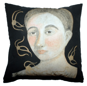 Mermaid Cotton Pillow